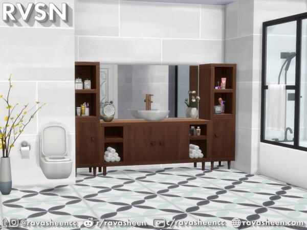 The Sims Resource: Bidet As It May Bathroom Set by RAVASHEEN