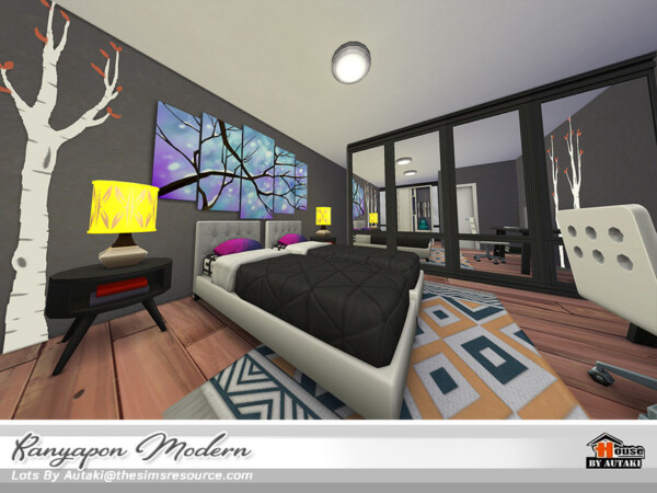 The Sims Resource: Kanyapon Modern NoCC by autaki
