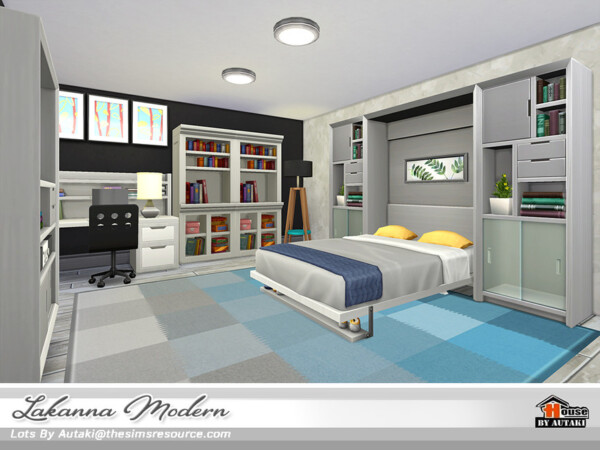 The Sims Resource: Lakanna Modern House NoCC  by Autaki