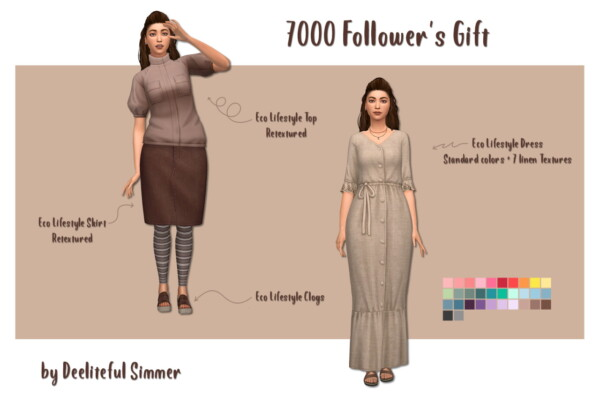 Deelitefulsimmer: 7000 Followers Gift