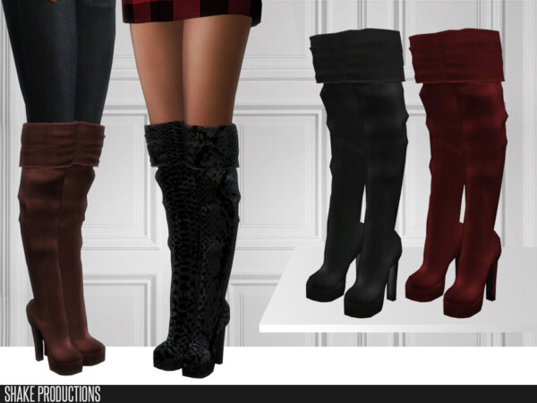 The Sims Resource: 466 High Heels by ShakeProductions