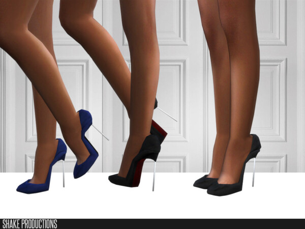 The Sims Resource: 467 High Heels by ShakeProductions