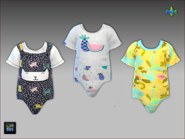 Arte Della Vita: Onesies and sandals for toddler girls