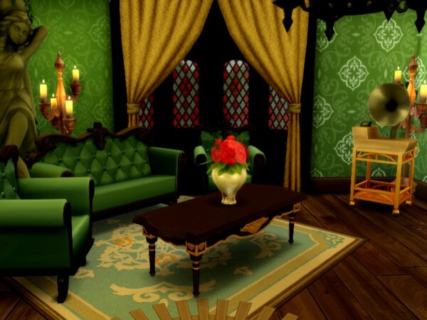 The Sims Resource: Gothic Castle by GenkaiHaretsu