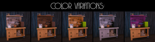 Mod The Sims: Potting station made functional and decluttered by Astraea Nevermore