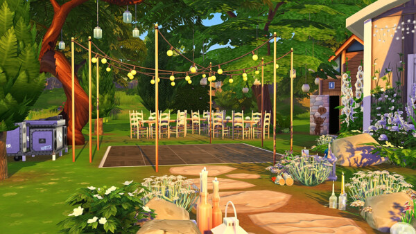 Woodland wedding venue from Aveline Sims