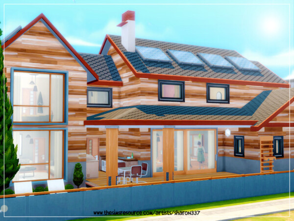 The Sims Resource: Eco Modern Home  No cc by sharon337