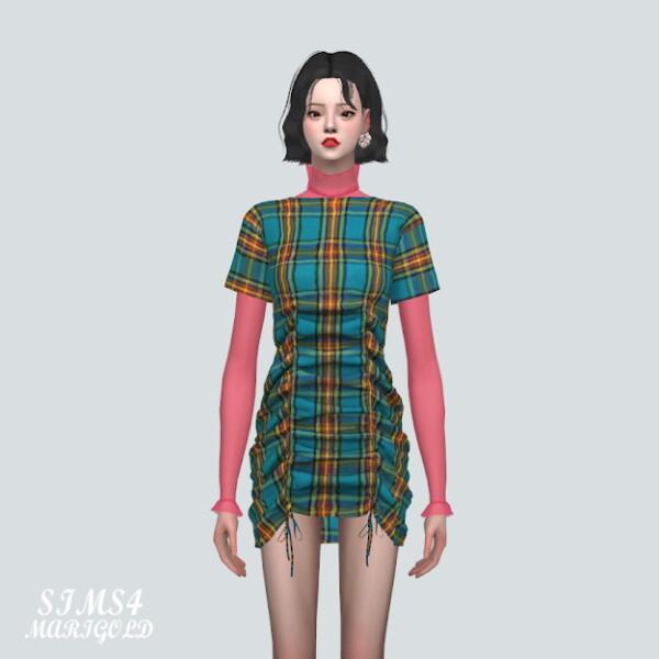 SIMS4 Marigold: Layering See Through Mesh T shirts Gloves