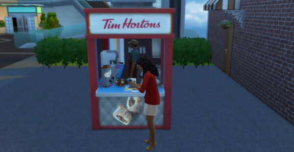 Mod The Sims: Tim Hortons to go by ArLi1211