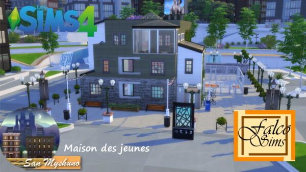 Luniversims: Maison des jeunes by Falco