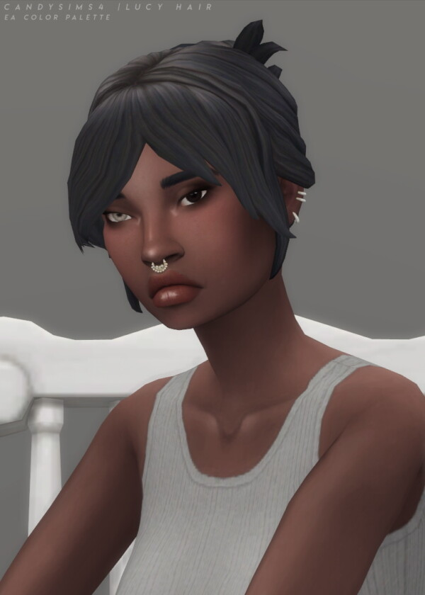 Lucy Hair from Candy Sims 4