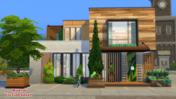 Sims 3 by Mulena: Family Eco House