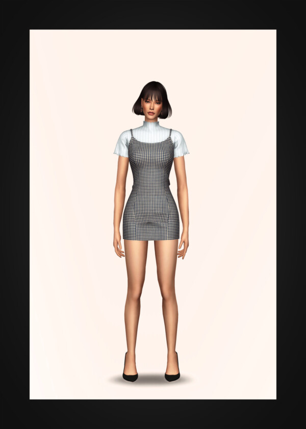 Bustier Dress and Turtleneck from Gorilla