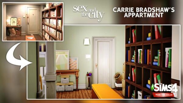 DH4S: Carrie Bradshaw's apartment
