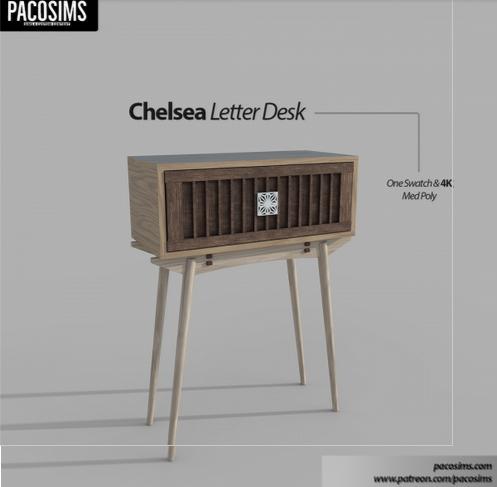 Paco Sims: Chelsea Letter Desk