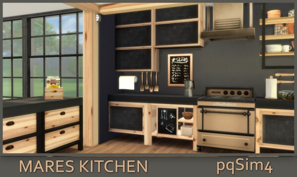 PQSims4: Mares Kitchen