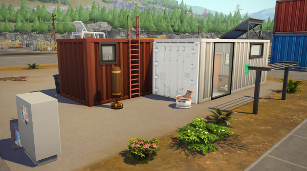 Simsontherope: Container Duo Starter House