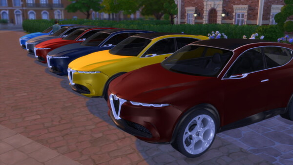 Lory Sims: Alfa Romeo Tonale Concept