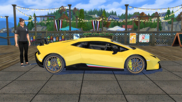 Lory Sims: Lamborghini Huracan Performante