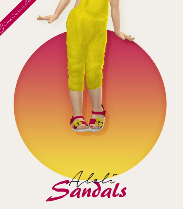 Simiracle: Aleli Sandals Toddler Version