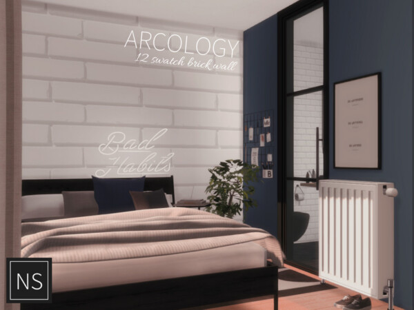 The Sims Resource: Arcology Brick by  Networksims