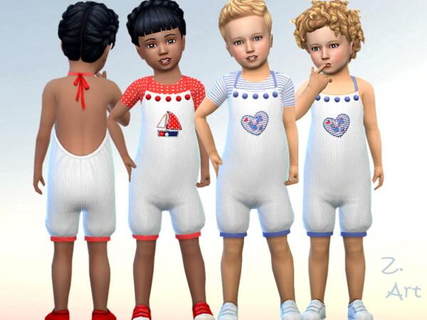 The Sims Resource: BabeZ. 84 Romper by Zuckerschnute20