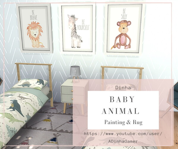 Dinha Gamer: Baby Animal Collection