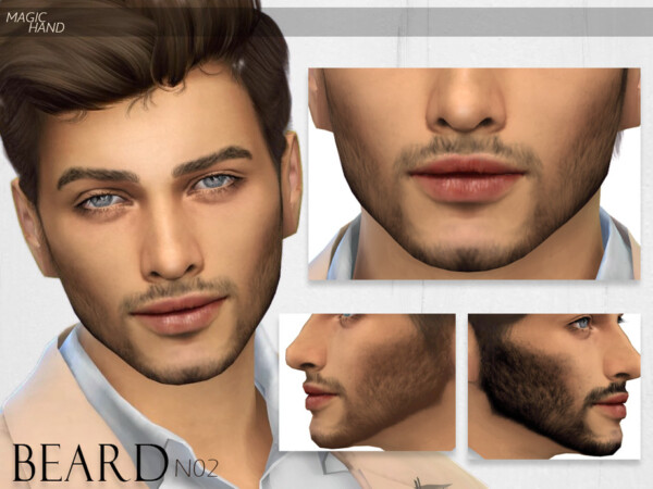 The Sims Resource: Beard N02 by MagicHand