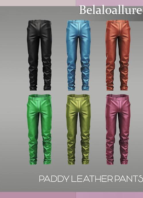 Belaloallure Paddy leather pants by belal1997 from TSR