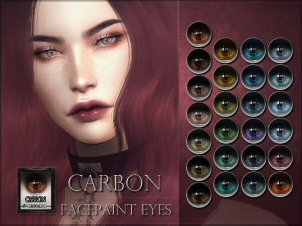 The Sims Resource: Carbon Eyes by RemusSirion