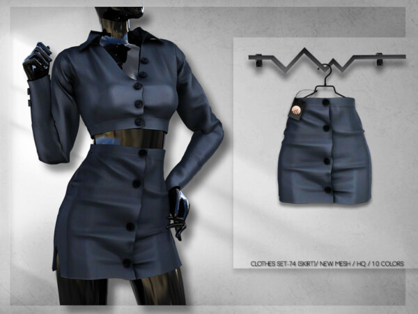 Clothes Set 74 Skirt by busra tr from TSR