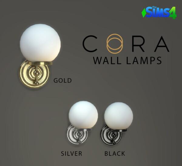 Leo 4 Sims: Cora Wall Lamp