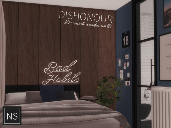 Dishonour Wooden Walls by networksims from TSR