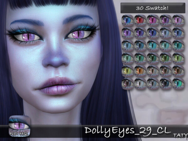 The Sims Resource: Dolly Eyes 29 by Taty
