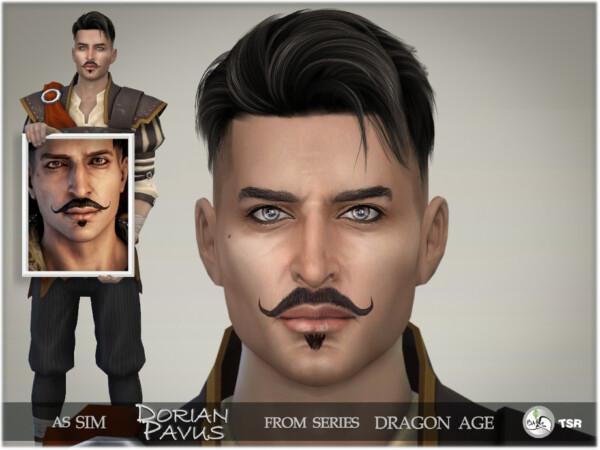The Sims Resource: Dragon Age Dorian Pavus by BAkalia
