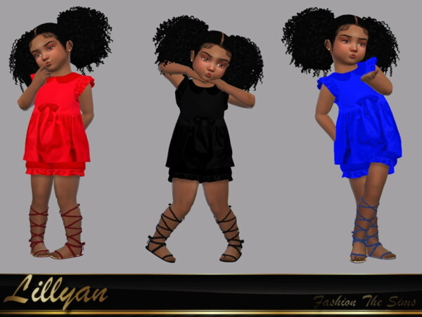 The Sims Resource: Dress Dany by LYLLYAN