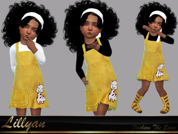 Dress Flora by LYLLYAN from TSR