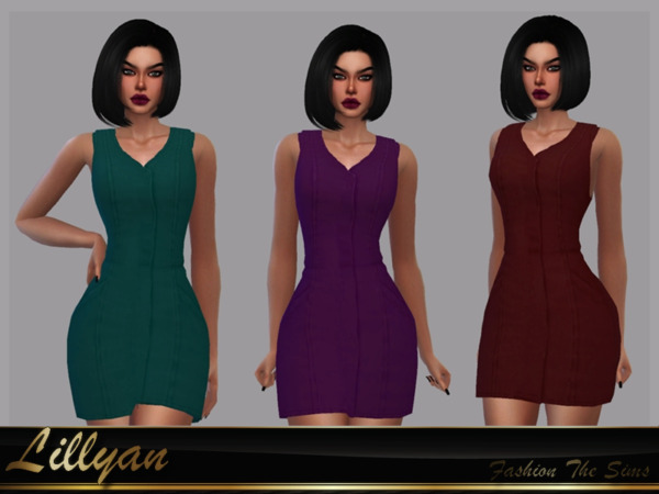 The Sims Resource: Dress Maia by LYLLYAN