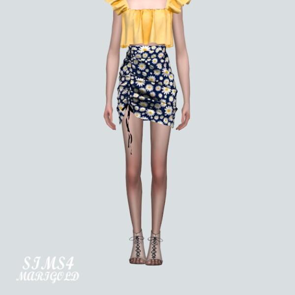 SIMS4 Marigold: E Shirring Mini Skirt Pattern V