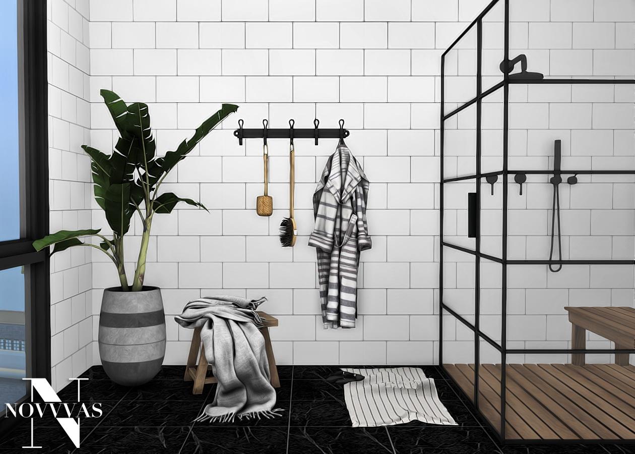 Elo Bathroom Set from NOVVAS • Sims 4 Downloads