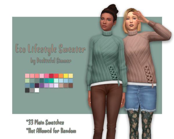 Deelitefulsimmer: Eco Lifestyle Sweater