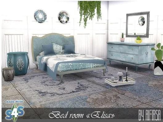 Aifirsa Sims: Elisa Bedroom