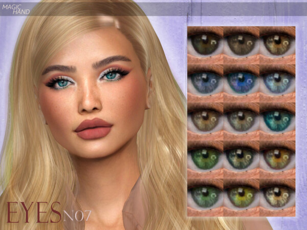 Eyes N07 by MagicHand from TSR