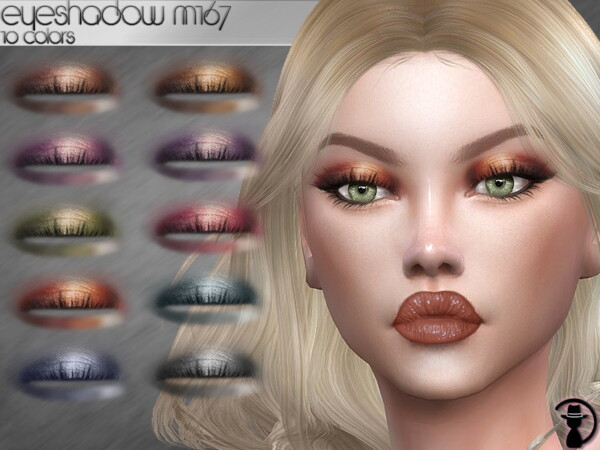 The Sims Resource: Eyeshadow M167 by turksimmer