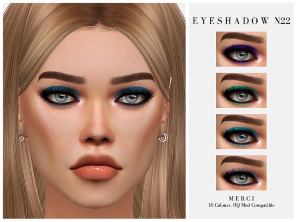 The Sims Resource: Eyeshadow N22 by Merci