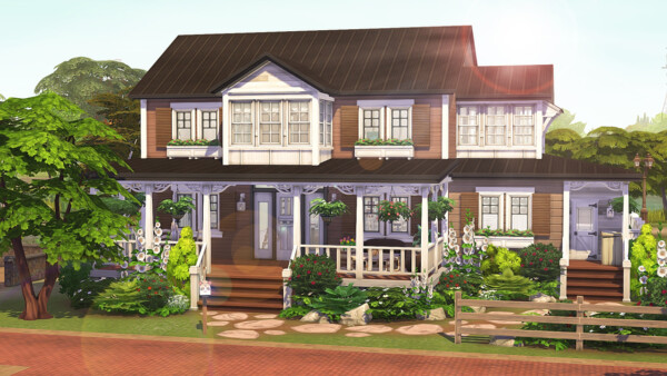 Foster Family House from Aveline Sims