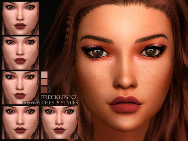 The Sims Resource: Freckles N2 by Suzue