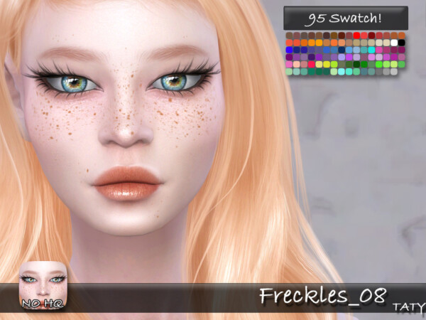The Sims Resource: Freckles 08 by Taty