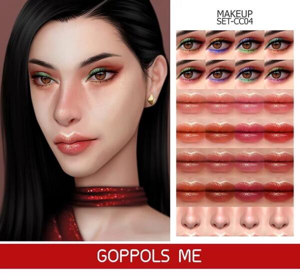 GOPPOLS Me: Gold Makeup Set CC04