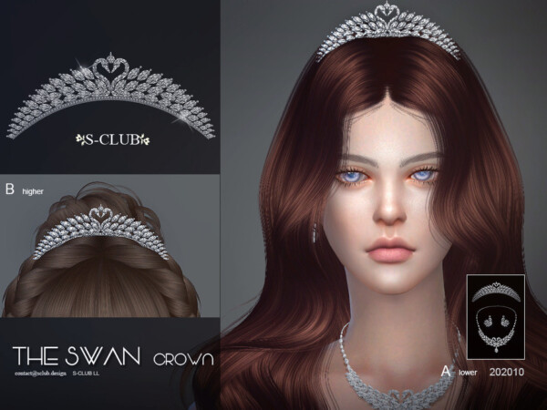 The Sims Resource: Hair Accessories 202010 by S Club